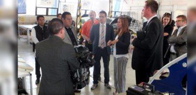 Bereits 2016 nutzten sächsische Zulieferer eine von der IHK Chemnitz und dem Netzwerk AMZ organisierte Reise, um sich über Geschäftschancen in Mexiko zu informieren.
