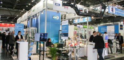 Messe-Duo Intec und Z: Einen festen Platz auf der Zuliefermesse Z hat der Gemeinschaftsstand des Automobilzuliefernetzwerks AMZ.