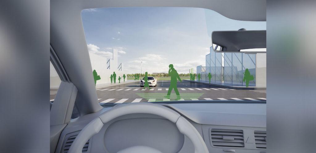 Auf dem DEKRA-Testfeld am Lausitzring können die unterschiedlichsten Verkehrsszenarien inner- und außerorts für das vernetzte und automatisierte Fahren erprobt werden.