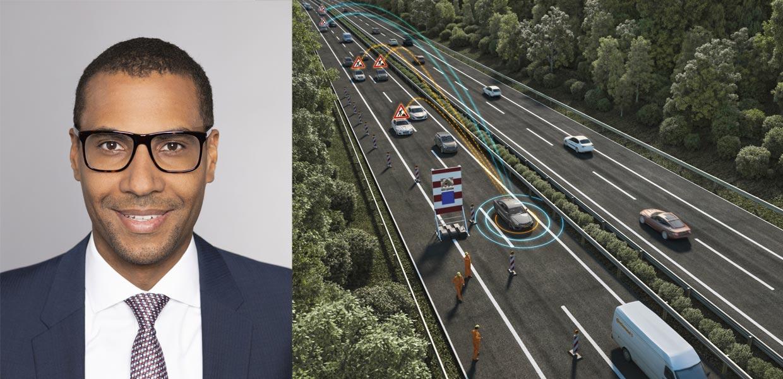 Rechtsanwalt Dr. Kuuya J. Chibanguza, LL.B., ist Fachanwalt für Internationales Wirtschaftsrecht bei der Luther Rechtsanwaltsgesellschaft mbH./Mit Lösungen zum vernetzten Fahren wie bei der hybriden V2X-Plattform von Continental steigt die Verkehrssicherheit. Gleichzeitig ergeben sich mit wachsender Digitalisierung auch erhöhte Anforderungen zur Produktbeobachtung bei Automobilherstellern und Zulieferern.