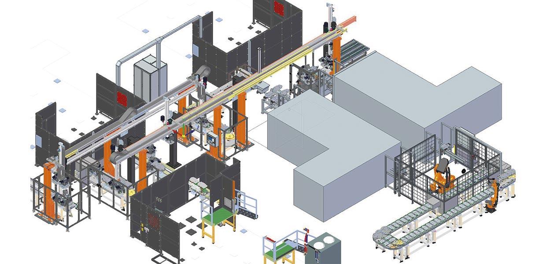 Das neue AMZ-Mitglied ELFIN Engineering entwickelt schlüsselfertige Produktionsanlagen.