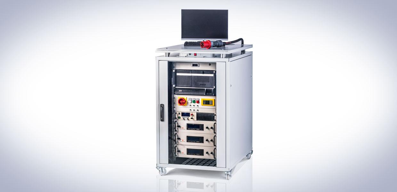 Auros – die mobile Prüfstandsautomatisierung für elektrische Antriebe.