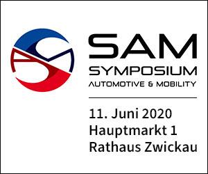 Symposium Automotive & Mobility, 11. Juni 2020, Hauptmarkt 1, Rathaus ZwickauSAM
