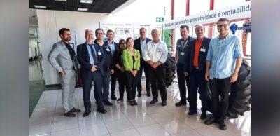Die Teilnehmer der Unternehmerreise nach Südbrasilien im Oktober 2019 besuchten u.a. Bosch Rexroth.