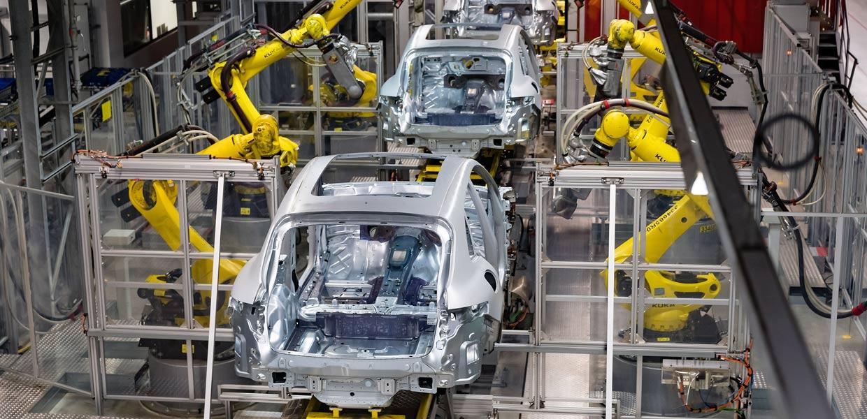 Produktionsunterbrechung bei Porsche. Auch bei Porsche Leipzig ruht für vorerst zwei Wochen die Fertigung. (Foto: Porsche)