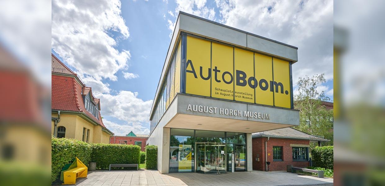 Die Sonderschau AutoBoom im Zwickauer August Horch Museum thematisiert vor allem Gegenwart und Zukunft der sächsischen Auto-Mobilität. Sie ist Teil der 4. Sächsischen Landesausstellung zur Industriekultur.