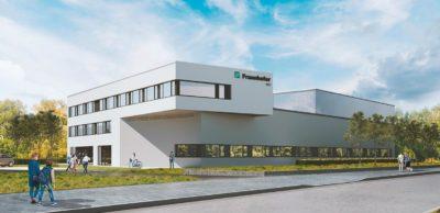 Fraunhofer-Kunststoffzentrum Oberlausitz mit Erweiterungsbau