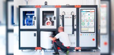 """Die neu installierte """"Fusion Factory"""" am Fraunhofer IFAM Dresden."""