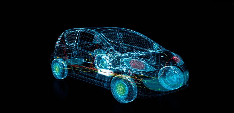 In modernen Fahrzeugen werden immer mehr Daten übertragen. Das Fraunhofer IPMS entwickelt IP-Designs für die sichere Bordvernetzung.