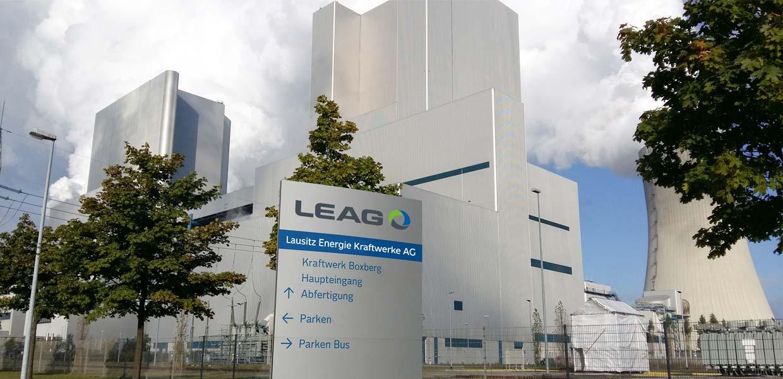 """Im Zuge des Braunkohleausstiegs soll der Kraftwerksstandort Boxberg zu einem Zentrum für Leichtbau mit """"grünen"""" Carbonfasern entwickelt werden."""