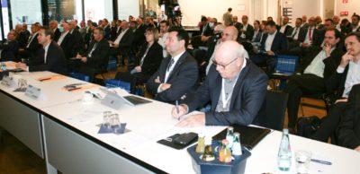 Rund 150 Teilnehmer verfolgten am 14. Oktober 2020 die Referate und Diskussionen des 24. Internationalen Jahreskongresses der Automobilindustrie in Zwickau