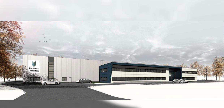Der neue Blackstone-Standort in Döbeln.