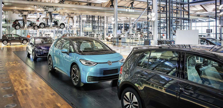 Nach dem Produktionsende des e-Golf läuft ab Ende Januar 2021 der ID.3 in Dresden vom Band.
