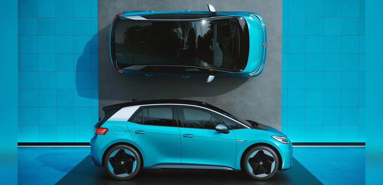 Trotz des späten Verkaufsstarts im Herbst 2020 war der ID.3 meistverkaufter E-Pkw der Marke Volkswagen.