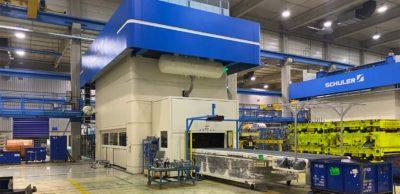 KWD Radeberg hat in eine neue Servo-Großpresse mit Peripherie mehr als sieben Millionen Euro investiert.