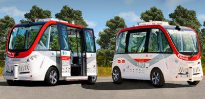Projekt SMO: Elektrische und fahrerlose Shuttles sollen einen Beitrag zur künftigen Mobilität insbesondere im ländlichen Raum leisten. Die TU Chemnitz forscht hierfür zu den Grundlagen für sichere autonome Mobilität.