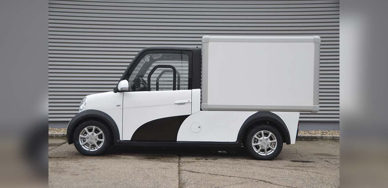 E-Transporter von ARI Motors sind für den Einsatz auf der letzten Meile konzipiert.