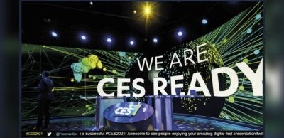 Die CES fand 2021 als reine Digitalveranstaltung statt. Zehn sächsische Unternehmen, Forschungseinrichtungen und Netzwerke nutzten den von der Wirtschaftsförderung Sachsen organisierten virtuellen Gemeinschaftsstand, um sich einem internationalen Fachpublikum zu präsentieren.