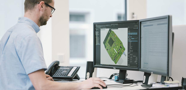 Von der Konzeption über die Entwicklung bis hin zur Serienfertigung sind alle Schritte im Unternehmen konzentriert.