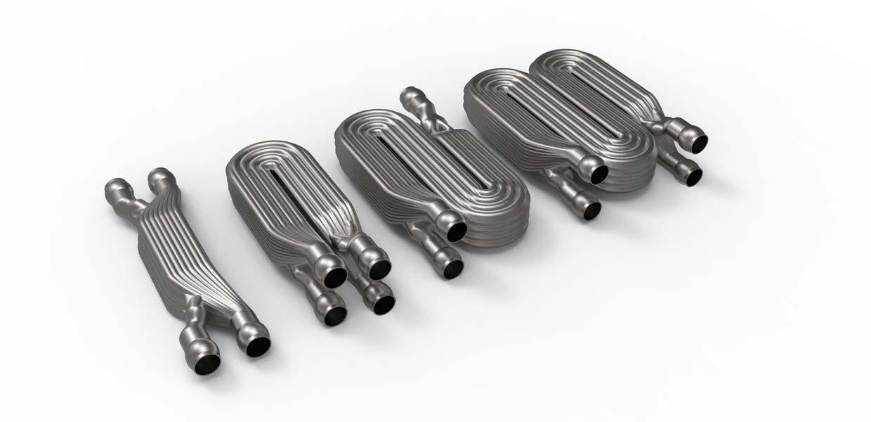 Additiv gefertigte Miniatur-Wärmetauscher. Die Aktivitäten im industriellen 3D-Druck bündelt die Fraunhofer-Gesellschaft im Kompetenzfeld Additive Fertigung.