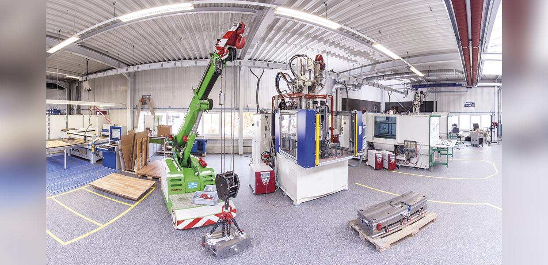 Zu den Kernkompetenzen des neuen AMZ-Mitglieds Plastard für die Automobilindustrie gehören das Kunststoffspritzgießen und die Metallbearbeitung.