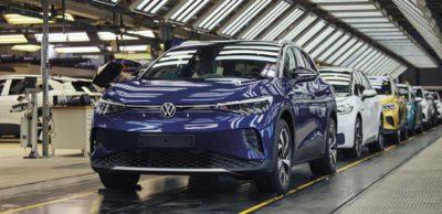 Auto-Wendejahr 2020: Das Elektro-SUV ID.4 wird seit August 2020 im VW-Werk Zwickau produziert.