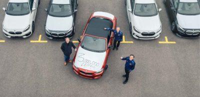 Im Werk Leipzig wurde im März 2021 der dreimillionste BMW seit Start der Serienproduktion vor 16 Jahren gefertigt.