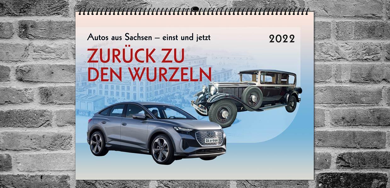 Einen limitierten Kalender 2022 mit Autos aus Sachsen – einst und jetzt bringt die Marketingagentur Reichel heraus. Vom ersten Fahrzeug des Audi-Gründers August Horch aus Zwickau bis zum aktuellen E-SUV Audi Q4 e-tron zeigen die zwölf Motive attraktive Erzeugnisse sächsischer Fahrzeugbaukunst.