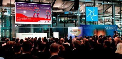 ACOD-Kongress und Mitteldeutsches Logistikforum laden am 1. September 2021 in die Gläserne Manufaktur Dresden ein. Die bereits seit Ende Juli ausgebuchte Veranstaltung findet unter strengem Hygienekonzept statt.