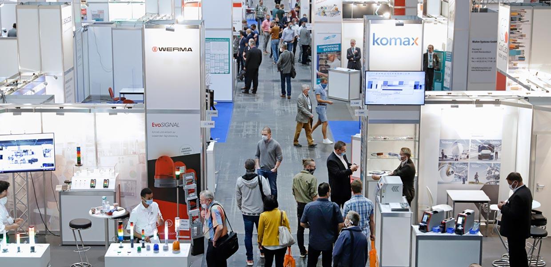 Automatisierungsexperten unter sich: am 22. und 23. September wieder auf der all about automation in der Messe Chemnitz. Mit einem zertifizierten Schutzkonzept auf Basis der 3G-Regeln ist das Treffen in Präsenz möglich.