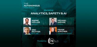Sächsische Kompetenzen zum automatisierten Fahren stellen die Referenten des FDTech-Workshops zum The Autonomous Main Event in der Wiener Hofburg sowie online vor.