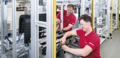 Lösungen für effizienteres Produzieren mit Komponenten von Bosch Rexroth bietet FMT. Darüber können sich Interessenten u.a. zur Messe für Industrieautomation all about automation am 22. und 23. September 2021 in Chemnitz informieren.
