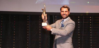 Freude bei Geschäftsführer Max Jankowsky über die Auszeichnung der Gießerei Lößnitz beim Großen Preis des Mittelstandes.